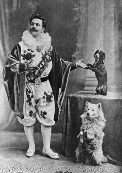 артист-дрессировщик Владимир Дуров (1863—1934). «Я - король шутов, но не шут королей!»