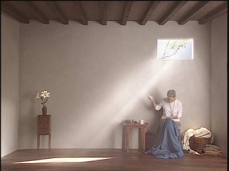 Bill Viola, Catherine's Room, 2001. Photograph by Kira Perov. ARTIST ROOMS Tate and National Galleries of Scotland. Acquired jointly through The d'Offay Donation with assistance from the National Heritage Memorial Fund and the Art Fund 2008. © Bill Viola Studio LLC.