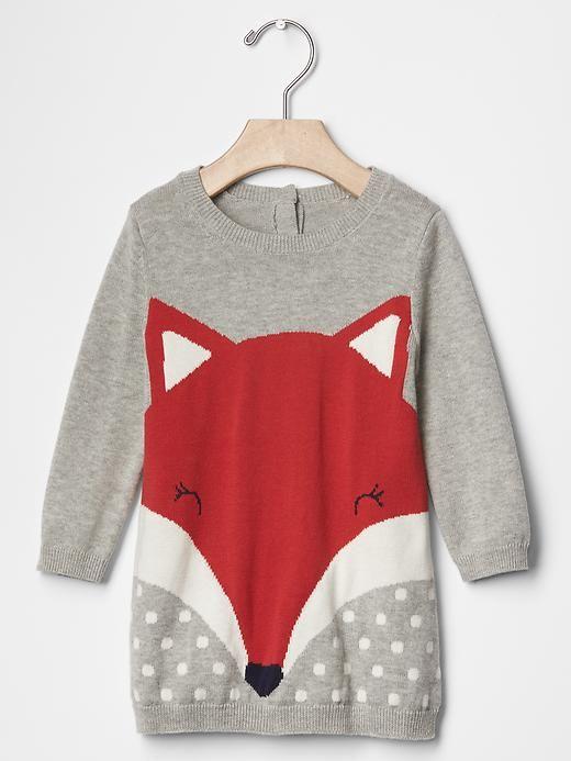 Fox sweater dress Product Image
