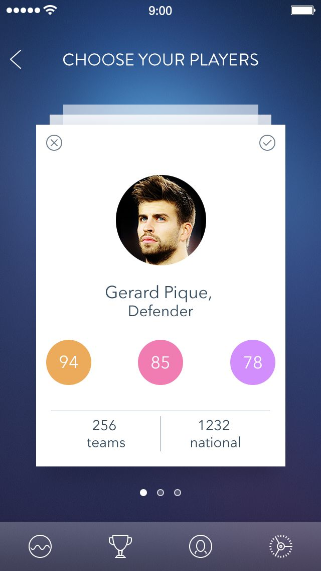 Secret Football App by Alexander Zaytsev