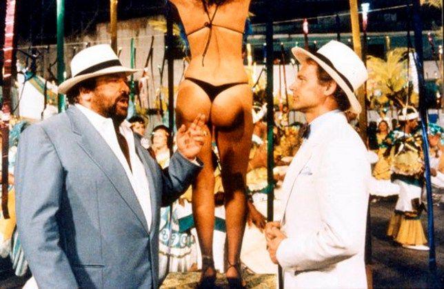 Lehetetlenség válaszolni arra a kérdésre, hogy nekünk melyik a kedvenc Bud Spencer-filmünk. Amint kimondunk egy címet, rögtön eszünkbe jut három másik, ami legalább olyan kedves a szívünknek. Vadnyugati naplopóként, nápolyi nyomozóként, karib-tengeri misszionáriusként és a világot megmentő titkosügynökként egyaránt nagyszerű...