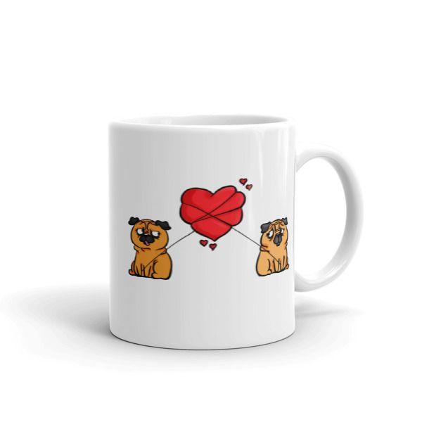 Love Between Pugs Mug