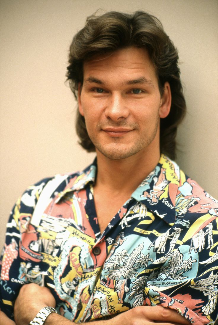 patrick swayze - michael ochs photoshoot, 1987