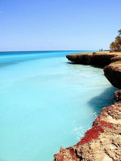 A beleza dos corais Varadero, Cuba. #Viagem #Caribe