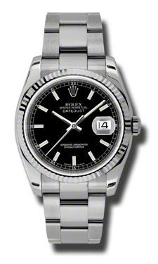Rolex Datejust 36mm - Steel Fluted Bezel - Oyster Bracelet