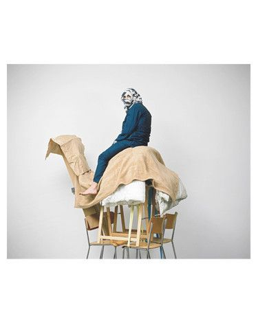 """""""Bedouin"""" design created by Geoffrey Cottenceau & Romain Rousset. Geoffrey Cottenceau and Romain Rousset were born in 1978 in France, studied together at Ecal in Lausanne, and have worked as photographers since 2001."""