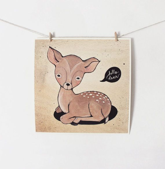 Hey, I found this really awesome Etsy listing at https://www.etsy.com/listing/87680407/hello-dear-print-10x10