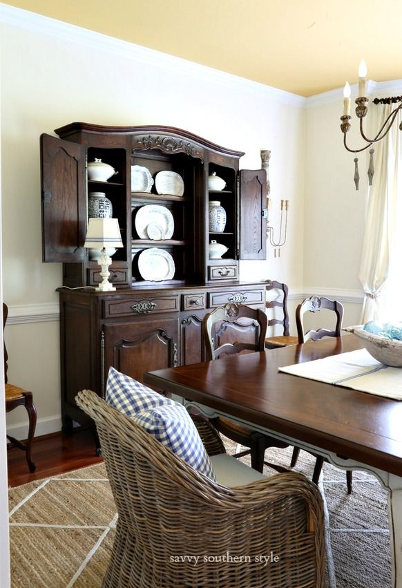 simple summer dining room dining rooms french country decorating rh pinterest com