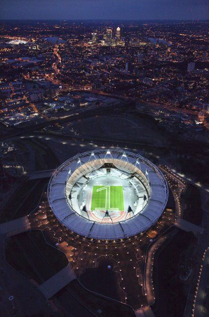 Olympics 2012 Stadium! Our very own will be here in a few weeks. #teamJamaica