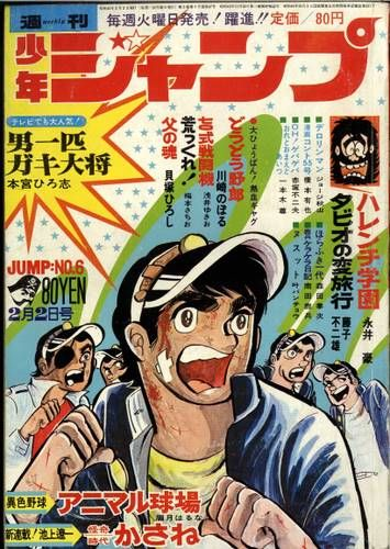 Wrapping the Anime: OTOKO IPPIKI GAKIDAISHO - 男一匹ガキ大将 (Quel bastardo del capobanda dei ragazzi), Tokyo Tv Doga, avventura, 174 episodi di 10 minuti l'uno, 29/9/1969-28/3/1970