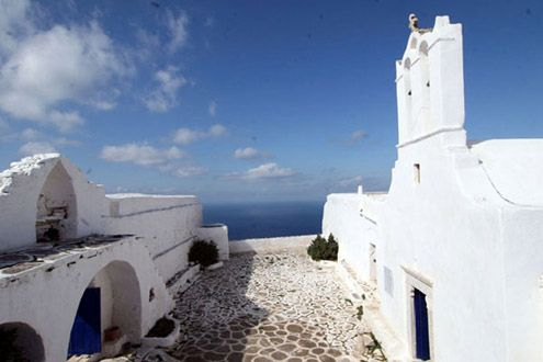 Sikinos greek island Cyclades Greece