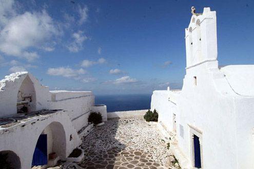 Sikinos greek island Cyclades Greece