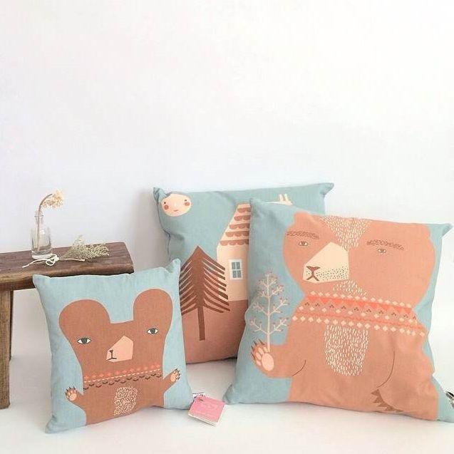 Our new cushions looking so fresh at @ shopminikin http://www.shopminikin.com/