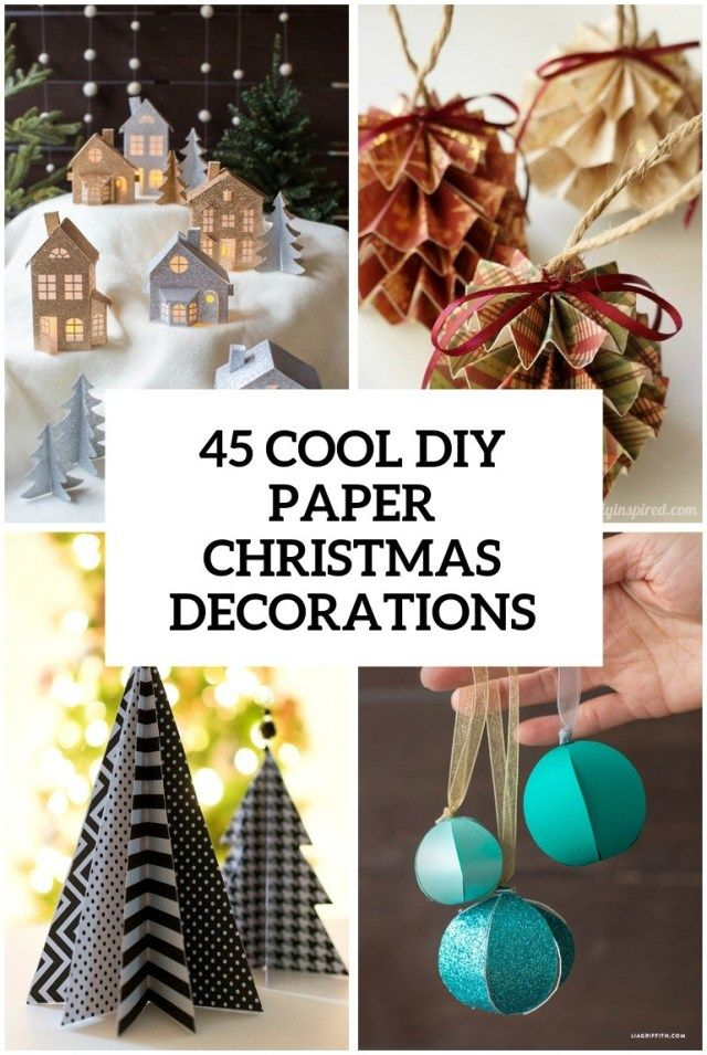 Creative Image Of Beautiful Examples Of Scandinavian Style Christmas Decorations Interior Design Ideas Home Decorating Inspiration Moercar Paper Decorations Diy Easy Christmas Diy Diy Christmas Lights