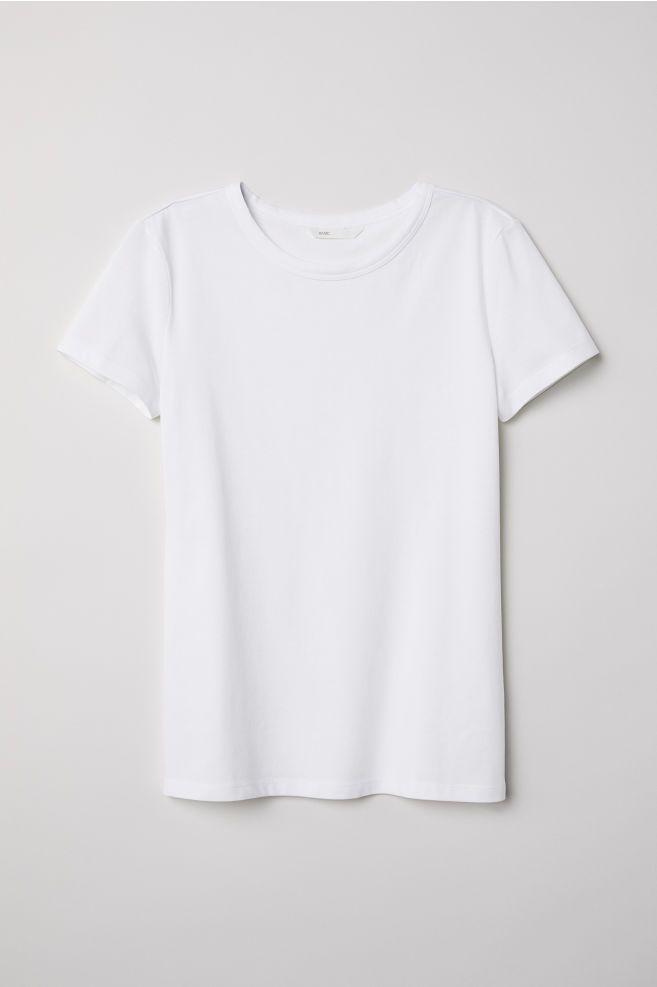 plain white shirt for women