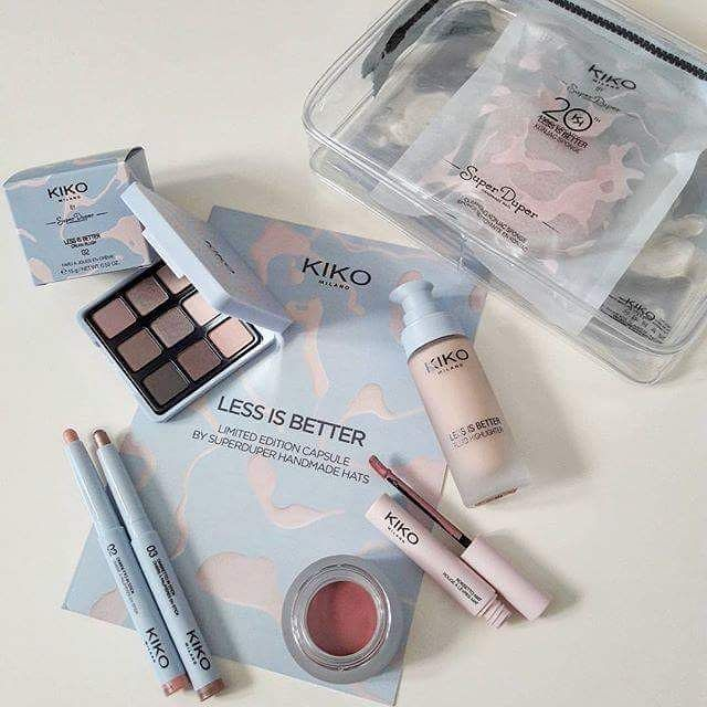 Muted, delicate shades & fluid forms: LESS IS BETTER, the new limited edition from Kiko Milano that's all about nude tones. The capsule collection created with @VogueItalia & @Superduperhats includes products to illuminate your skin, hide little imperfections and put the right emphasis on your eyes and lips.  @barbara_michelettoMuted, delicate shades & fluid forms: LESS IS BETTER, the new limited edition from Kiko Milano that's all about nude tones. The capsule collection created with…