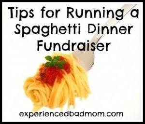 Tips for running a spaghetti dinner fundraiser