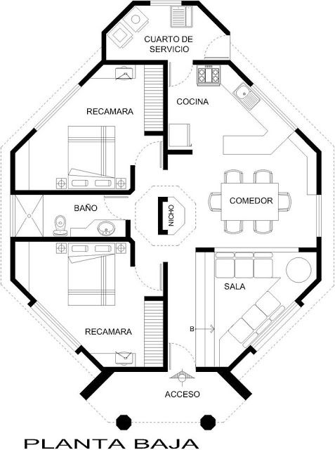 planos de casas raras