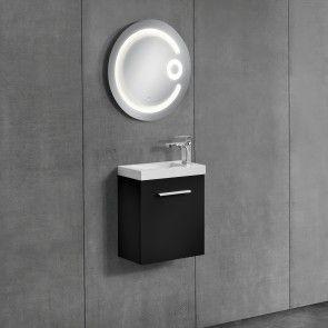 [neu.haus] Mobiletto da bagno con lavabo e specchio 204,00 €