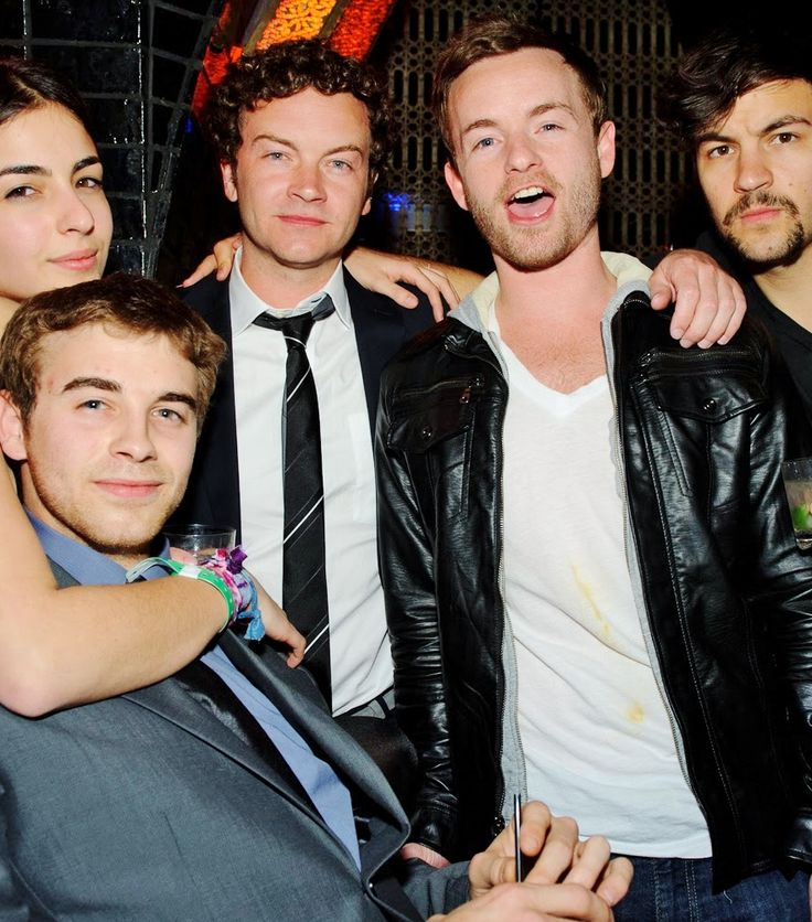 Danny, Chris, Jordy, Will, and Alana Masterson