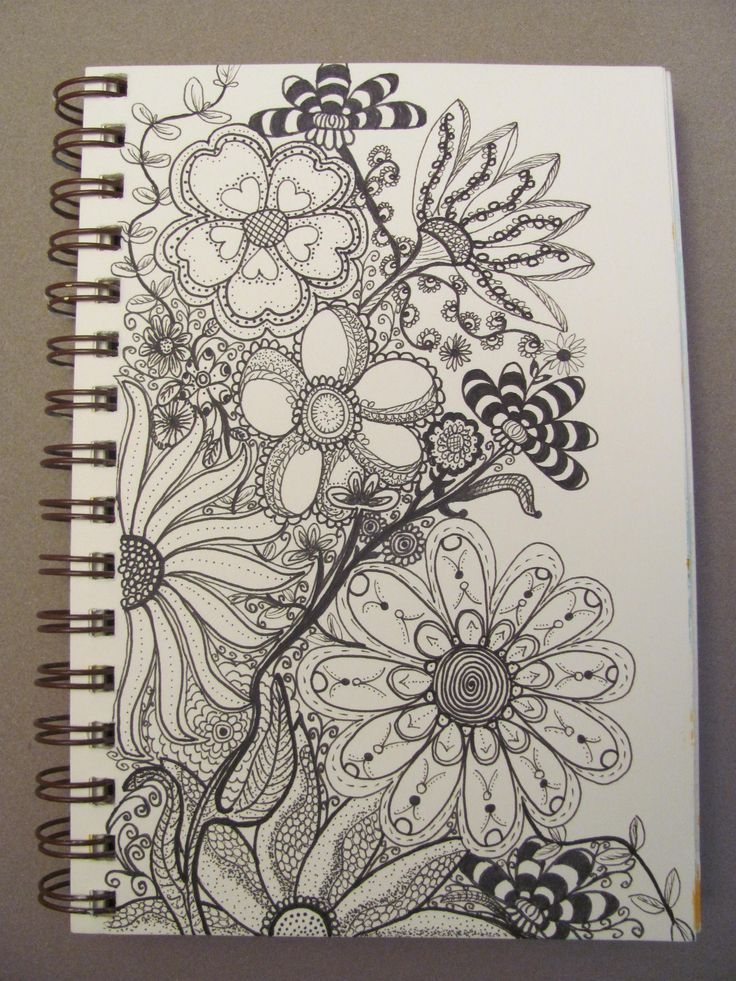 PINKY DINKY DOO (Lori B) doodled this amazing bouquet!