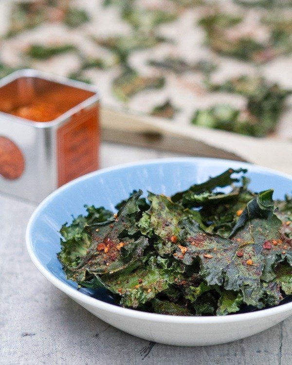 Chipotle Kale Chips | a Couple Cooks - I use chipotle chili power and add a squeeze of lime, we all love this (even chris and Jacob!)