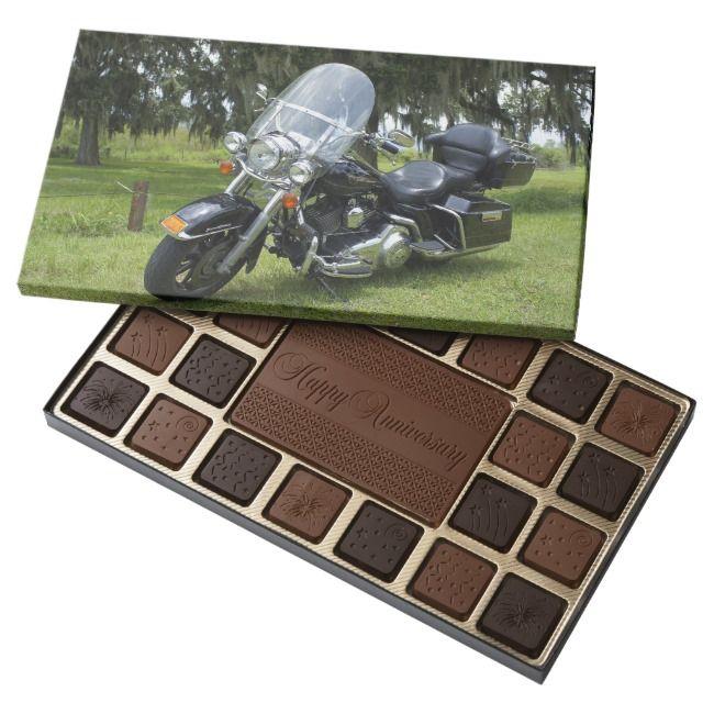 Harley Davidson Personalized Box of Chocolates