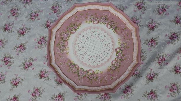 Поле краски*розовый винный столик: маленький роза рисунок Изображения 1