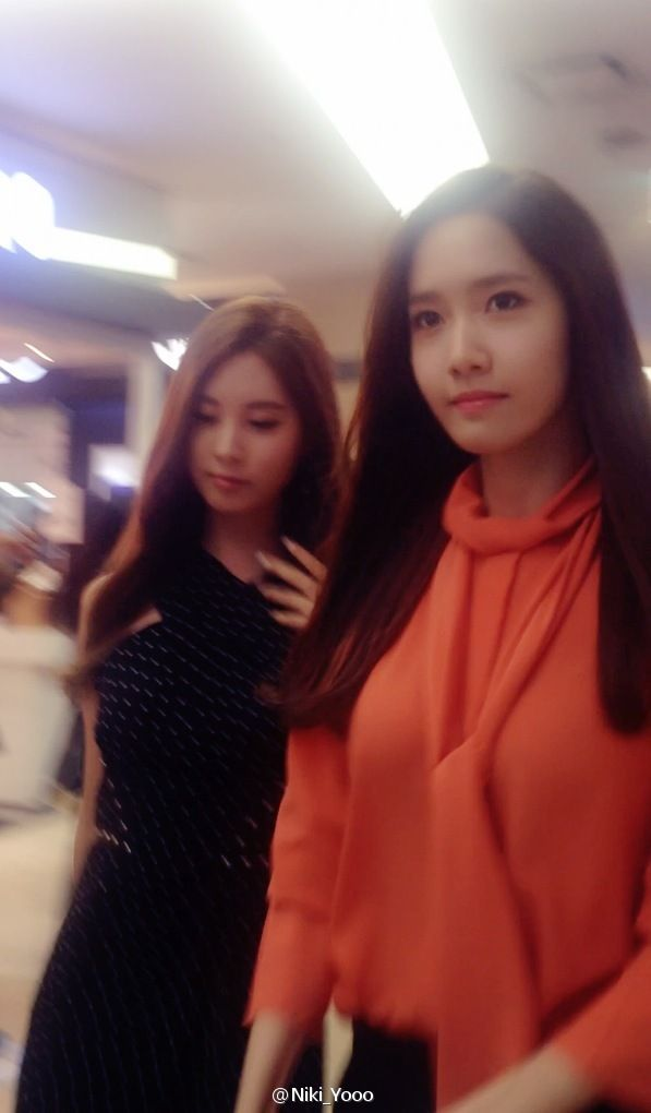 140729 'The Pirates' VIP Premiere - YoonA & SeoHyun