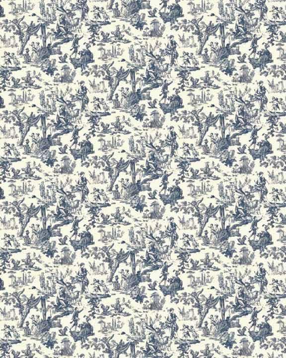 Miniature Printables - Download Dollhouse Wallpaper Regency 01
