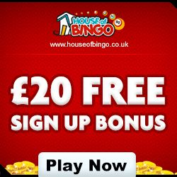 The house of bingo is the best in Online Bingo Entertainment. Get £20 as Signup bonus and £200 Bonus on your first deposit. -- http://www.bestbingoportal.com/mobile-bingo/