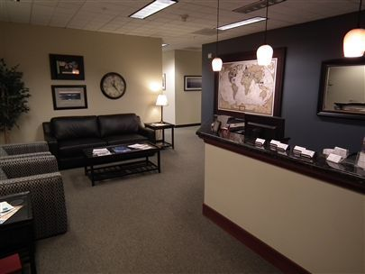 Financial Office Lobby | Kale Chalmers Ameriprise financial advisor in Lake Oswego, OR
