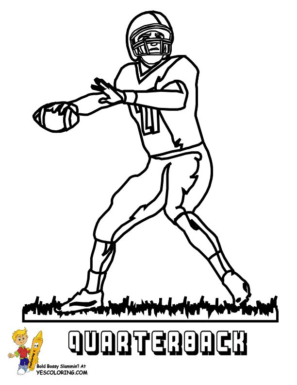 cardinals football coloring pages - photo#30