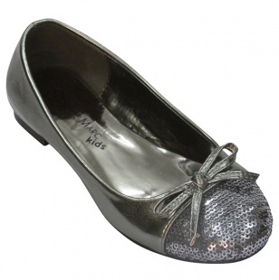 Sequins Toe Ballerina (kids).  Love these!