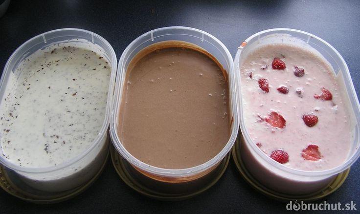 Fotorecept: Jogurtová zmrzlina