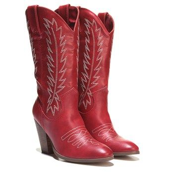 Miranda By Miranda Lambert Cowboy Boot Red