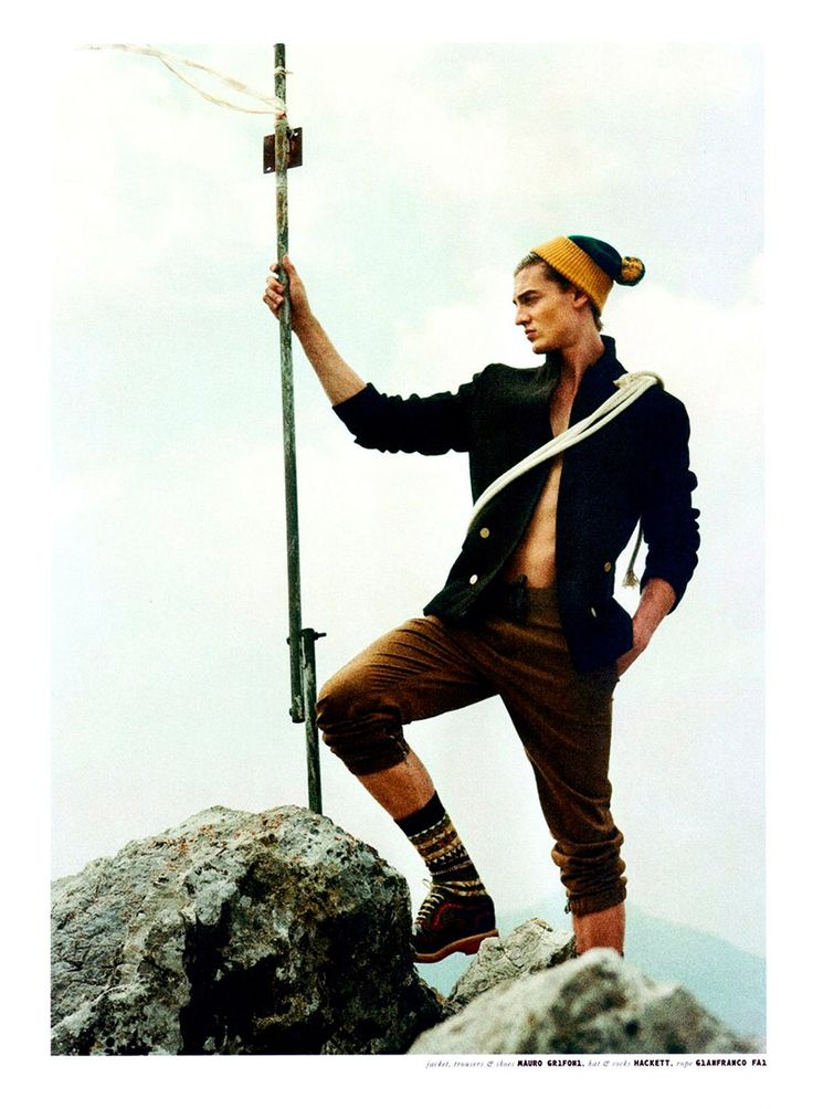 Henry Evans and Stirling Caiulo lensed by Stefan Giftthaler and styled by Luca Termine with pieces from Dolce & Gabbana, Borsalino, Raf Simons and more, for the Fall 2012 issue of QVEST magazine.
