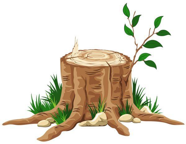 Transparent Tree Stump PNG Clipart