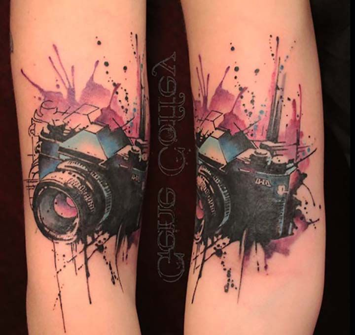 Camera Tattoo Designs