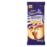 Cadbury Marvellous Creations Chocolate Block Spider Choc Orange