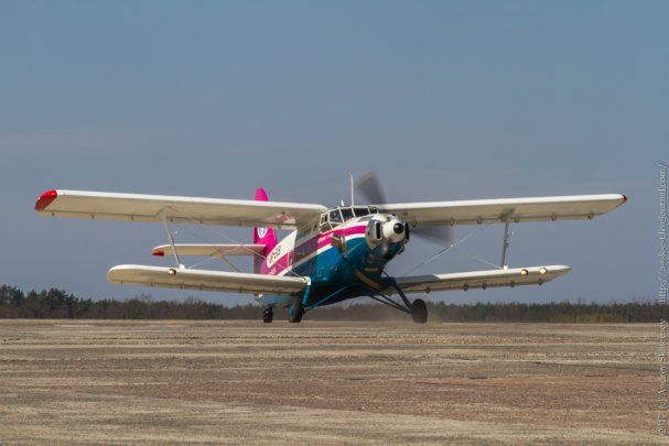 Украинская авиация - АН 2-100 ставит мировые рекорды