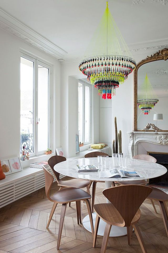 A renovated Paris flat - French By Design