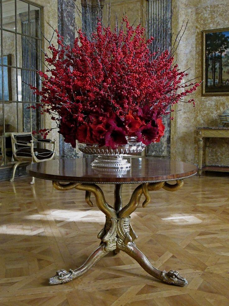 Peachy Best 25 Christmas Floral Arrangements Ideas On Pinterest Easy Diy Christmas Decorations Tissureus