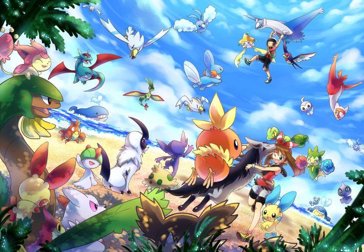 Pokemon ORAS Hoenn