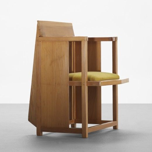 273: Frank Lloyd Wright / chair from the Laurent House, Rockford, Illinois < Important Design, 09 June 2011 < Auctions | Wright