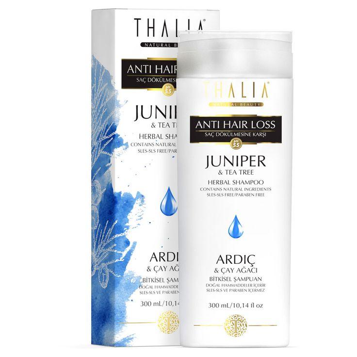 Thalia Saç Dökülmesine Karşı Etkili Ardıç ve Çay Ağacı Özlü Bakım Şampuanı kullanımınız sonrasında saçlarınızda ve saç derinizde meydana gelen istenmeyen oluşumların giderilmesine yardımcı olur. #saçbakım #saç #saçşampuan #hair #thalia #doğal #parabeniçermez #provitamin #şampuan #thaliaşampuan #doğal #şampuanlar #canlandırıcı #ardıç #kepeğekarşı