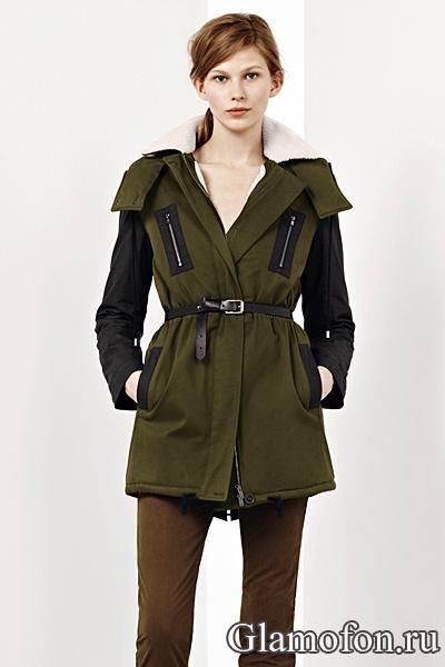 Куртка хаки зима