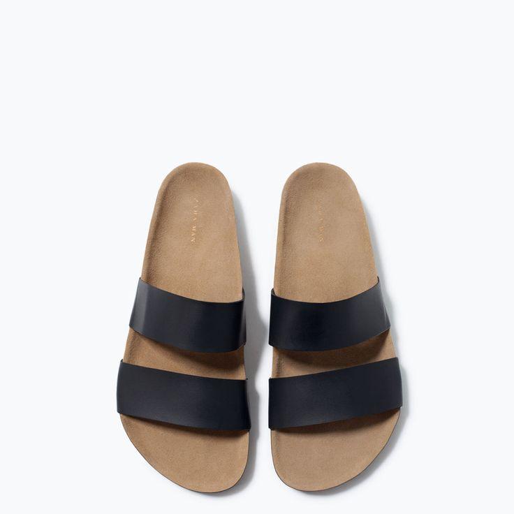 ZARA - NEW THIS WEEK - Bio sandals with strap