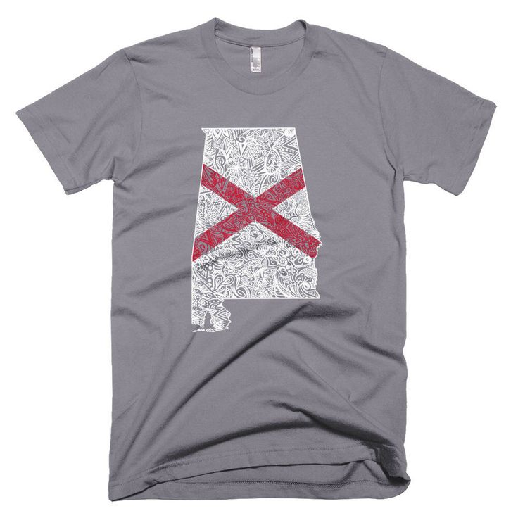 Alabama Short Sleeve T-shirt, Alabama t-shirt, Alabama flag map shirt, Alabama state shirt, Alabama Shirt, Alabama Pride, Alabama Gift