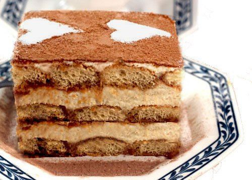 Authentic Tiramisu with Homemade Mascarpone Cheese and Lady Fingers! - pinned for the mascarpone and lady finger recipes.